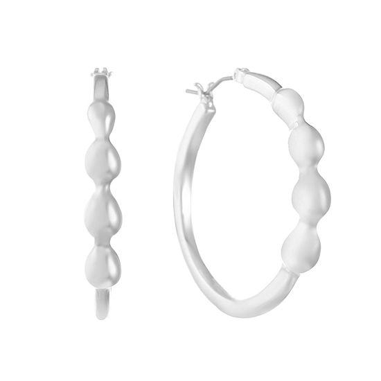 Gloria Vanderbilt 366mm Hoop Earrings