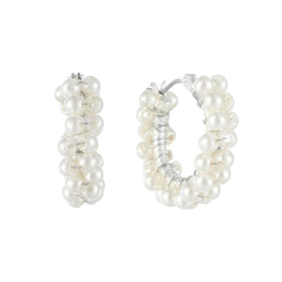 Chaps 19.1mm Hoop Earrings