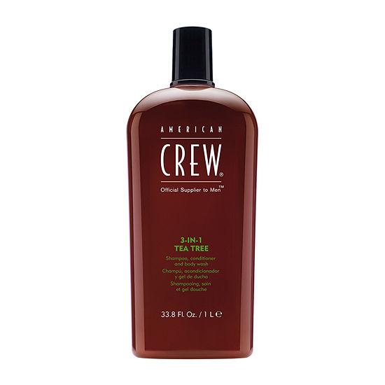 American Crew 3-in-1 Tea Tree Shampoo - 33.8 oz.