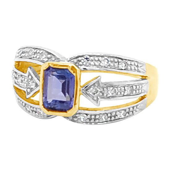 Le Vian Grand Sample Sale™ Ring featuring Blueberry Tanzanite®Nude Diamonds™ set in 14K Honey Gold™