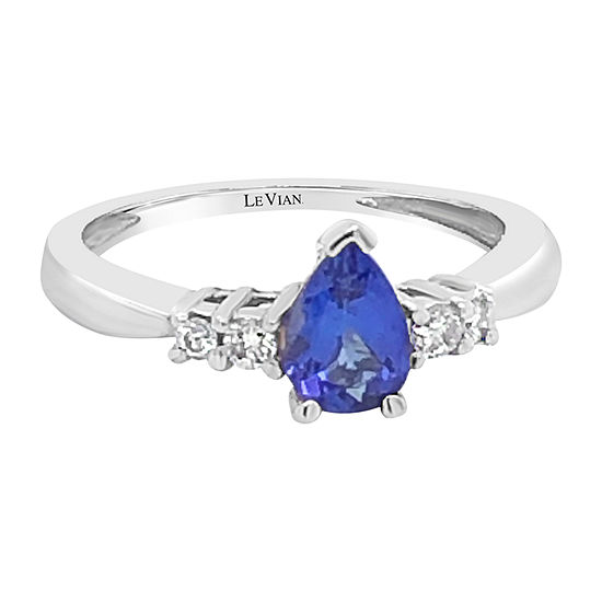 Le Vian Grand Sample Sale™ Ring featuring Blueberry Tanzanite® Vanilla Diamonds® set in PLT