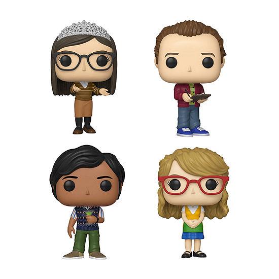 Funko Pop! Tv Big Bang Theory Series 2 Collectors Set 2 - Amy Stuart Raj Bernadette