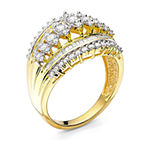 1 CT. T.W. Diamond 10K Yellow Gold Cocktail Ring