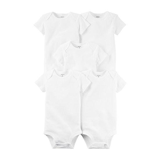 Carter's Little Baby Basic Baby Unisex 5-pc. Bodysuit