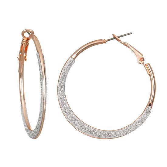 Delicates Round Hoop Earrings