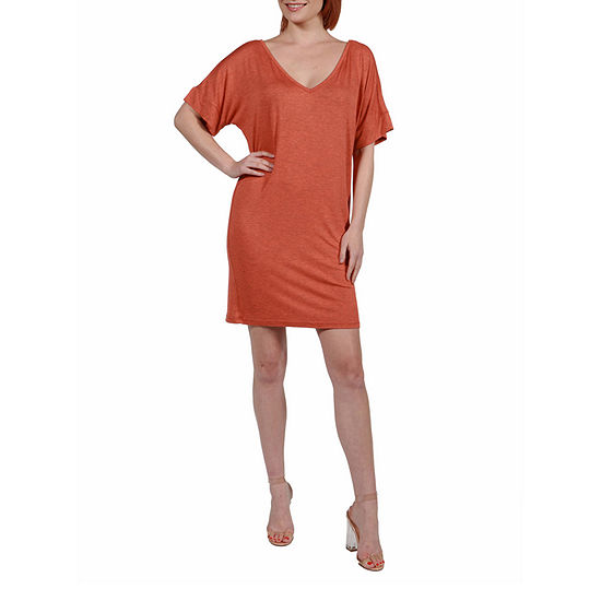 24/7 Comfort Apparel V-Neck Fit Resort Dress