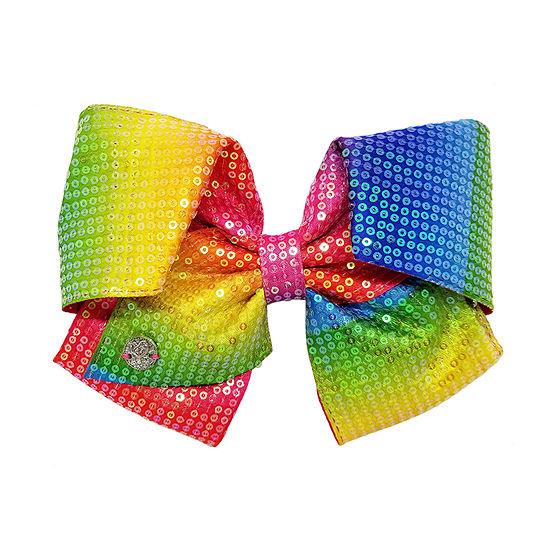 Jojo Siwa Signature Rainbow Sequin Bow