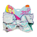 Jojo Siwa Signature Purple Teal Sequin Bow