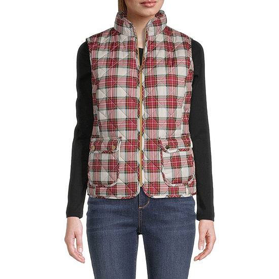 St. John's Bay Quilted Vest-Tall