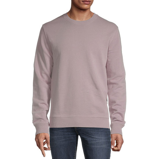 Arizona Mens Crew Neck Long Sleeve Sweatshirt