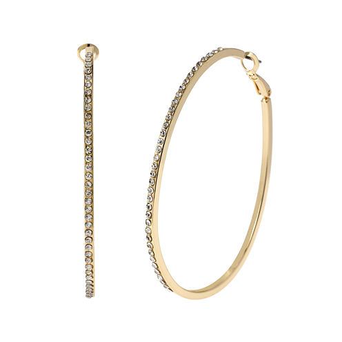 Worthington™ Gold-Tone Hoop Earrings