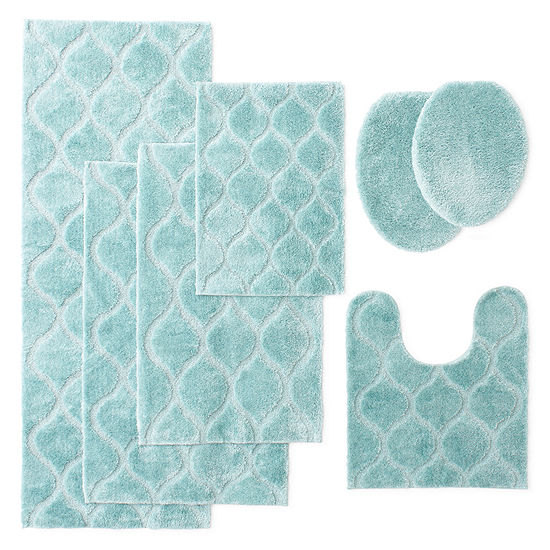 jcpenney home bri bath rug collection - Jcpenney Bathroom Rugs