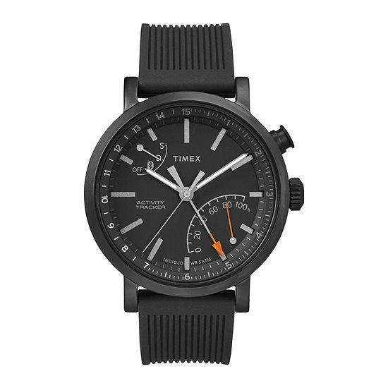 Timex Mens Black Smart Watch-Twg012600za