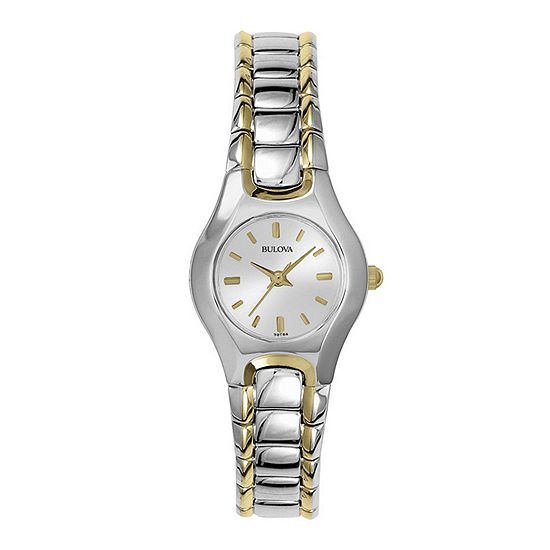 Bulova® Womens Two-Tone Watch 98T84
