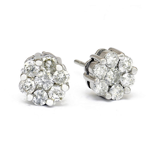 Limited Quantities 1 Ct Tw Diamond Stud Earrings