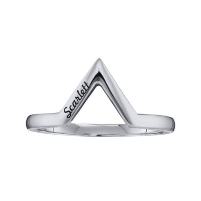Personalized V-Shaped Ring