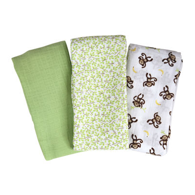 Summer Infant® 3-pk. SwaddleMe® Muslin Blanket