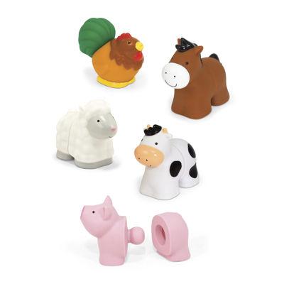 Melissa & Doug® Pop Blocs Farm Animals