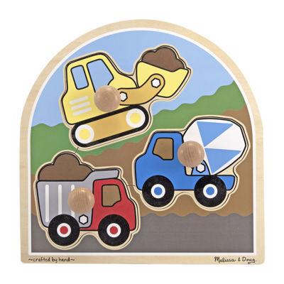 Melissa & Doug® Construction Site - Jumbo Knob