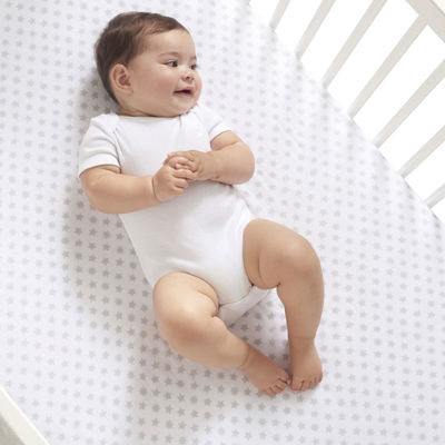 ideal baby by the makers of aden + anais® Crib Sheet - Grey