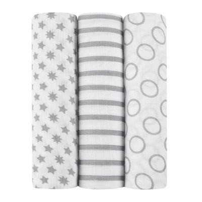 ideal baby by the makers of aden + anais® 3-pk. Swaddles - Pint Size
