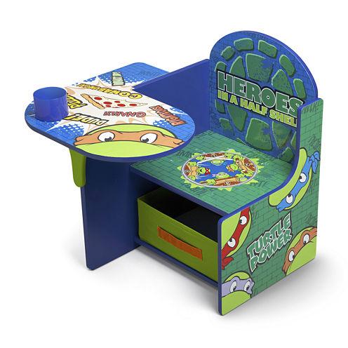 Delta Children's Products™ TMNT Chair Desk with Storage Bin