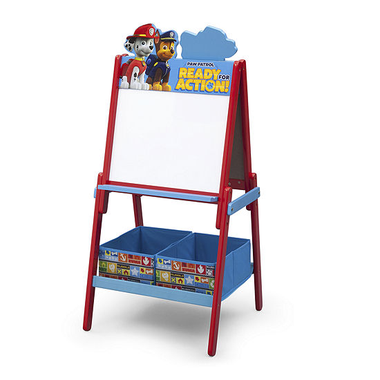 Nickelodeon Delta Children'S Products Paw Patrol Double-Sided Activity Easel