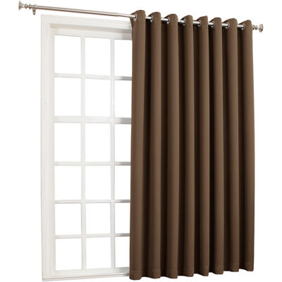 "Sun Zero Saxon Blackout 84"" Grommet-Top Patio Panel"