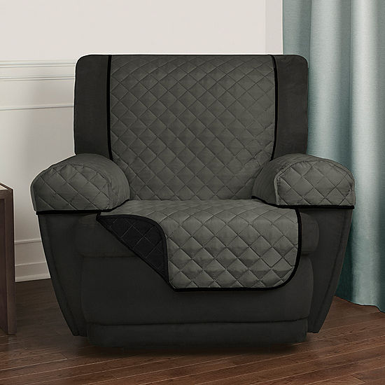Enjoyable Maytex Smart Cover Reversible Quilted Microfiber 3 Piece Recliner Chair Furniture Pet Cover Protector Alphanode Cool Chair Designs And Ideas Alphanodeonline