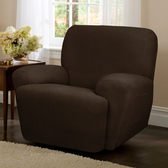 Maytex Smart Cover® Torie Medallion Stretch 4 Piece Recliner Chair Furniture Cover Slipcover