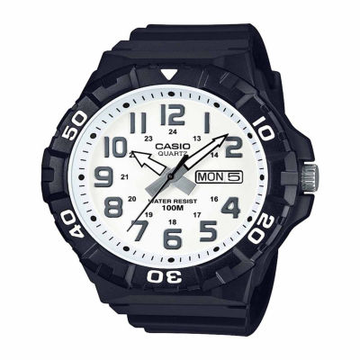 Casio Table Mens Black Strap Watch-Mrw210h-7apb
