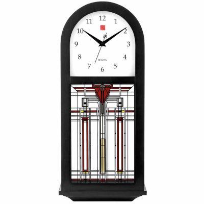 Bulova Harley Bradley Pendulum Wall Clock C4836