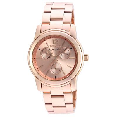 Invicta Angel Womens Rose Goldtone Bracelet Watch-21692