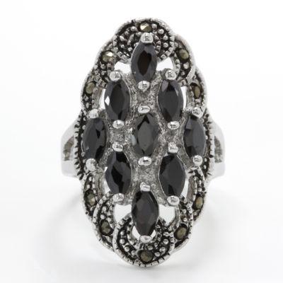 Sparkle Allure Cluster Ring