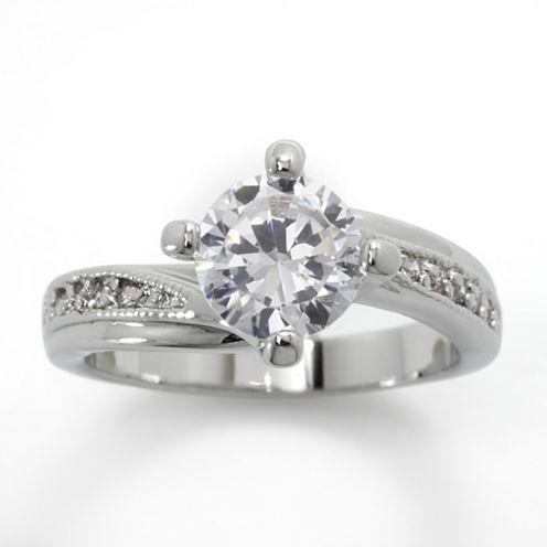 Sparkle Allure Solitaire Ring