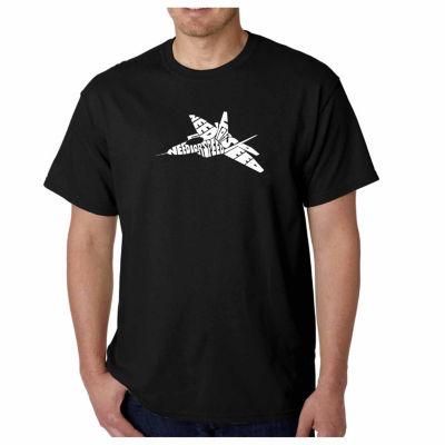 Los Angeles Pop Art Need for Speed Short Sleeve Word Art T-Shirt