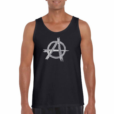 Los Angeles Pop Art Men's Great All Time Punk Songs Tank Top