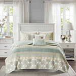 Madison Park Felicity 6-pc. Coverlet Set