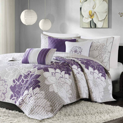 Madison Park Bridgette 6-pc. Coverlet Set