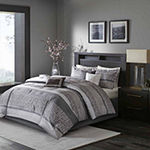 Madison Park Melody 7-pc. Jacquard Comforter Set