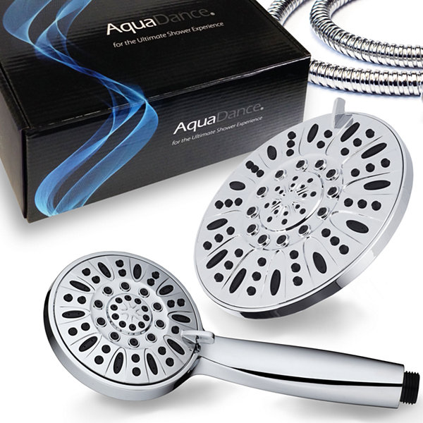 "AquaDance® 7"" Premium High Pressure 3-Way Rainfall Shower Combo"