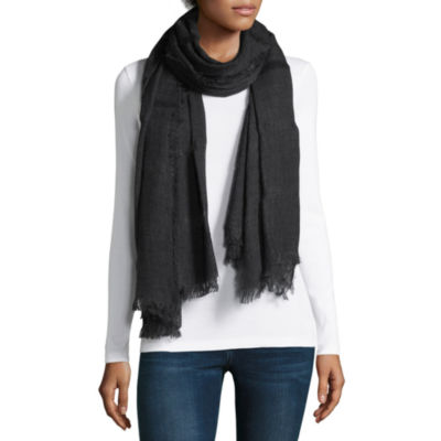 Mixit Solid Oblong Scarf