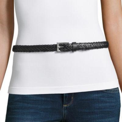 Mixit Braided Skinny Belt