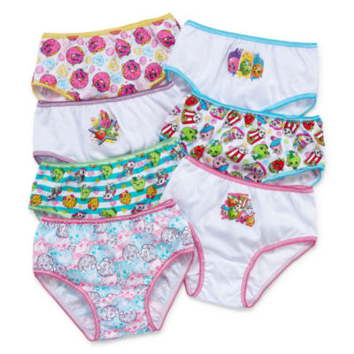 7 Pair Brief Panty Girls