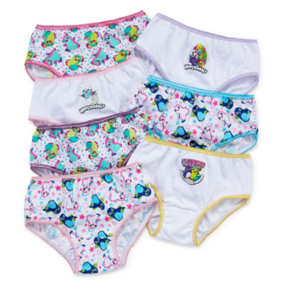 Spin Master Games 7 Pair Brief Panty Girls