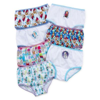 Disney 7 Pc. Brief Panty Girls
