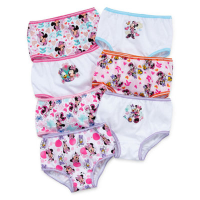 Disney 7 Pc. Brief Panty Girls