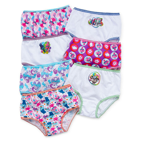 7 Pair Brief Panty Toddler Girls