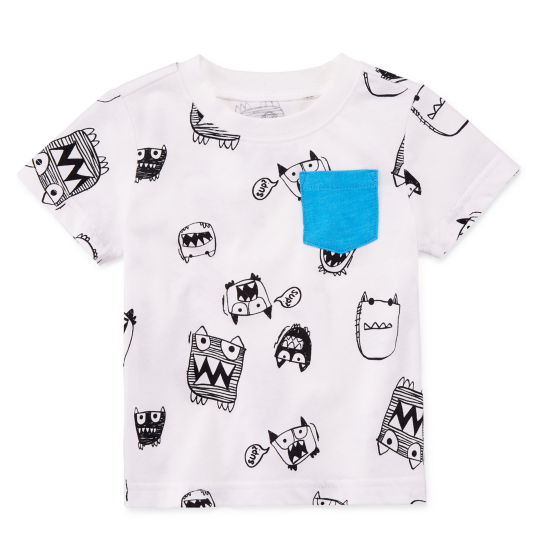 Okie Dokie Graphic T-Shirt-Baby Boy NB-24M