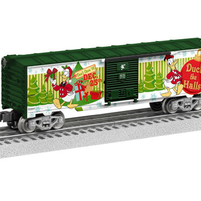 Lionel Trains Donald Duck Happy Holidays Boxcar